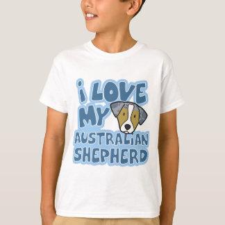 I Love My Australian Shepherd Child's T-Shirt
