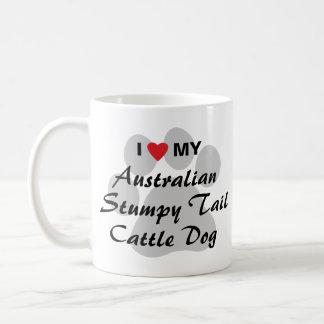 I Love My Australian Stumpy Tail Cattle Dog Coffee Mug