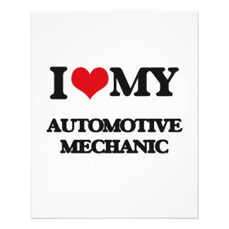 I love my Automotive Mechanic Flyer Design