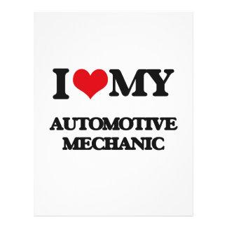 I love my Automotive Mechanic Flyer