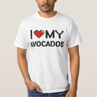 I Love My Avocados Digital design Tees