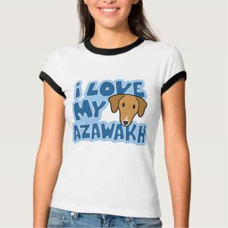 I Love My Azawakh Ladies Ringer Teeshirt T-Shirt