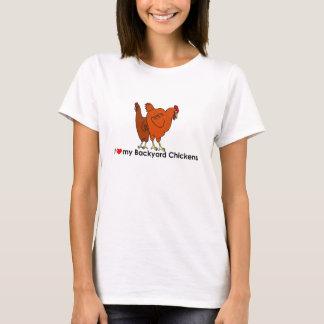 I love my Backyard Chickens Shirt