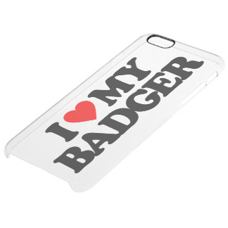 I LOVE MY BADGER CLEAR iPhone 6 PLUS CASE