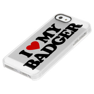 I LOVE MY BADGER PERMAFROST® iPhone SE/5/5s CASE