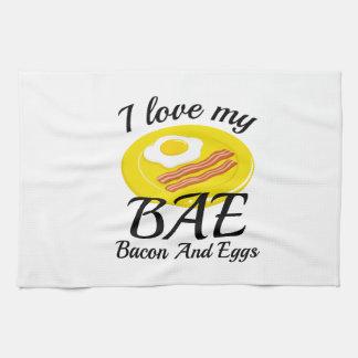 I Love My BAE Tea Towel