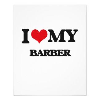I love my Barber Flyer Design