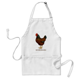 I Love My Barnevelder Chickens Standard Apron