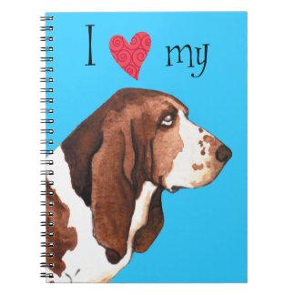 I Love my Basset Hound Notebook