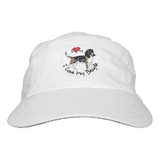 I Love My Beagle Dog Hat