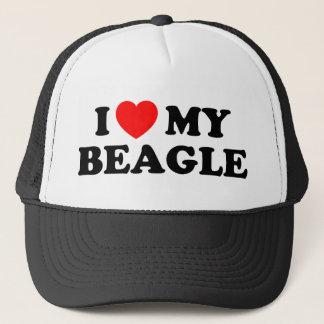 I Love my Beagle Hat