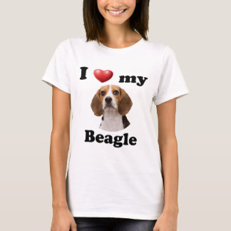 I Love My Beagle T-Shirt