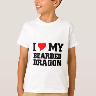 I love my Bearded Dragon T-Shirt