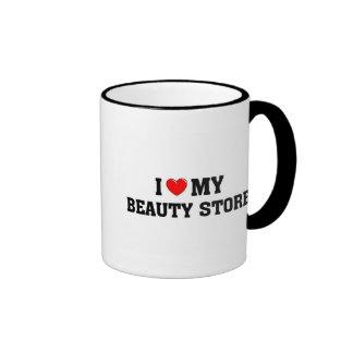 I love my beauty store ringer mug
