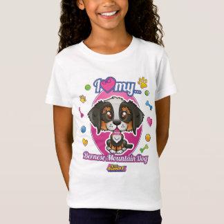 I Love My Bernese Mountain Dog Apparel T-Shirt