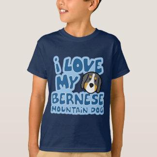 I Love My Bernese Mountain Dog Child's TShirt