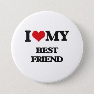 I love my Best Friend 7.5 Cm Round Badge