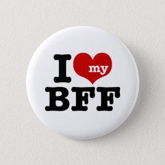 I Love My BFF 6 Cm Round Badge