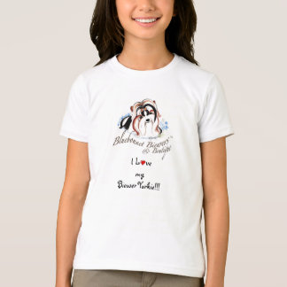 I Love My Biewer Yorkie T-Shirt