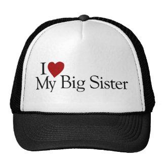 I Love My Big Sister Cap