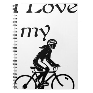 I Love My Bike Notebook