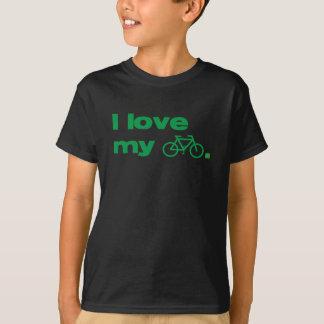 i love my bike with symbol T-Shirt