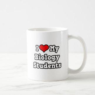 I Love My Biology Students Basic White Mug