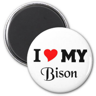 I love my Bison Magnet