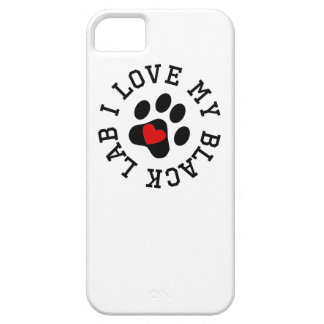 I Love My Black Lab Barely There iPhone 5 Case