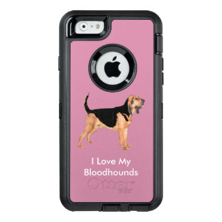 I Love My Bloodhounds OtterBox iPhone 6/6s Case