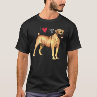 I Love my Boerboel T-Shirt