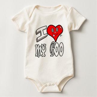 I Love My Boo Baby Bodysuit