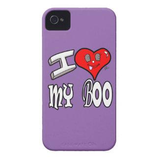 I Love My Boo iPhone 4 Case-Mate Case