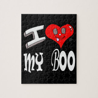 I Love My Boo Jigsaw Puzzle