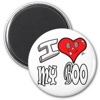 I Love My Boo Magnet