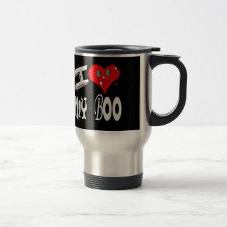 I Love My Boo Travel Mug