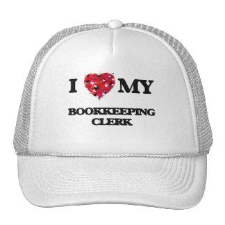 I love my Bookkeeping Clerk Trucker Hat