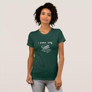 I Love My Books Reader Writer T-Shirt