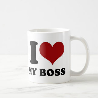 I love My Boss - mug