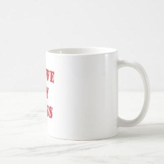 I Love My Boss Mugs