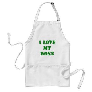 I Love my Boss Standard Apron