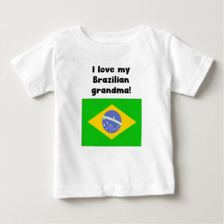 I Love My Brazilian Grandma Baby T-Shirt