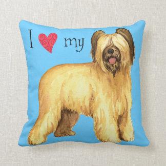 I Love my Briard Cushion
