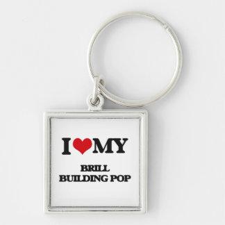I Love My BRILL BUILDING POP Keychain