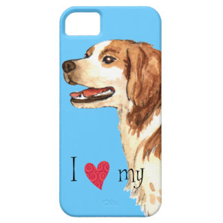 I Love my Brittany iPhone 5 Cases