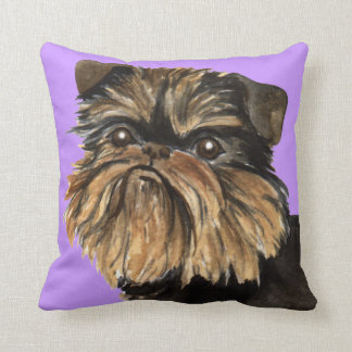 I Love my Brussels Griffon Cushion