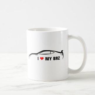 I Love My BRZ Coffee Mug