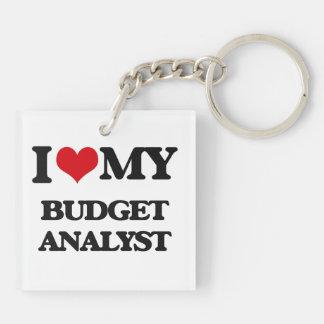 I love my Budget Analyst Key Chain