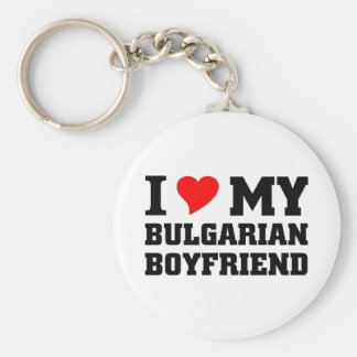 I love my Bulgarian Boyfriend Key Ring