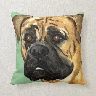 I Love my Bullmastiff Cushion